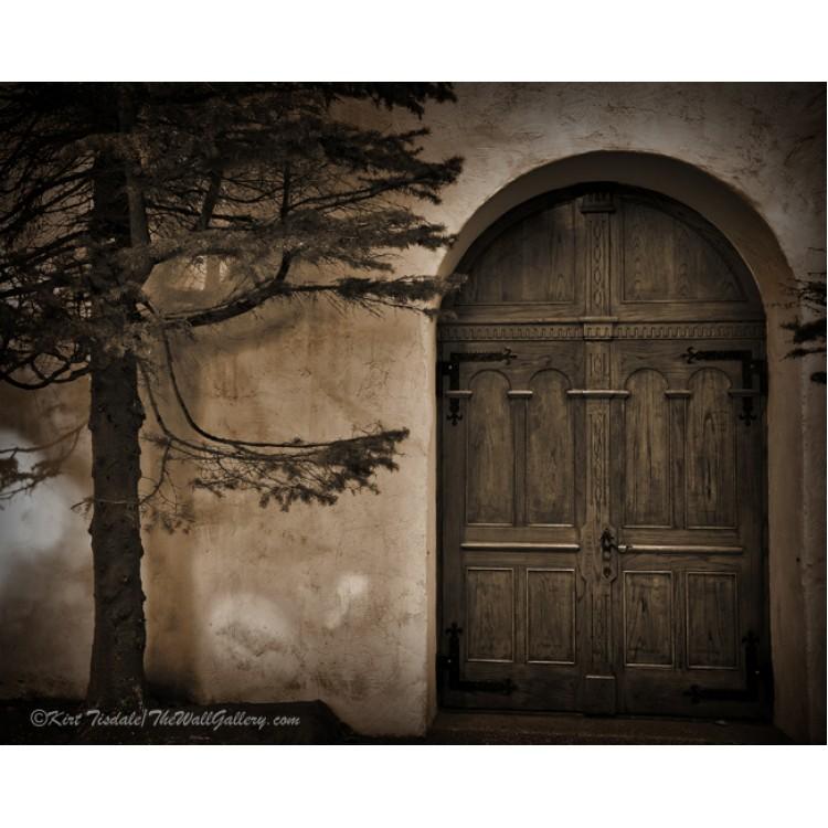 Tree And Chapel Door