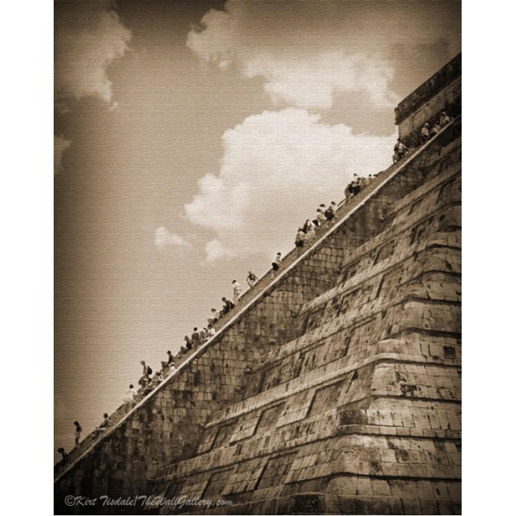 Mayan Serpent Head