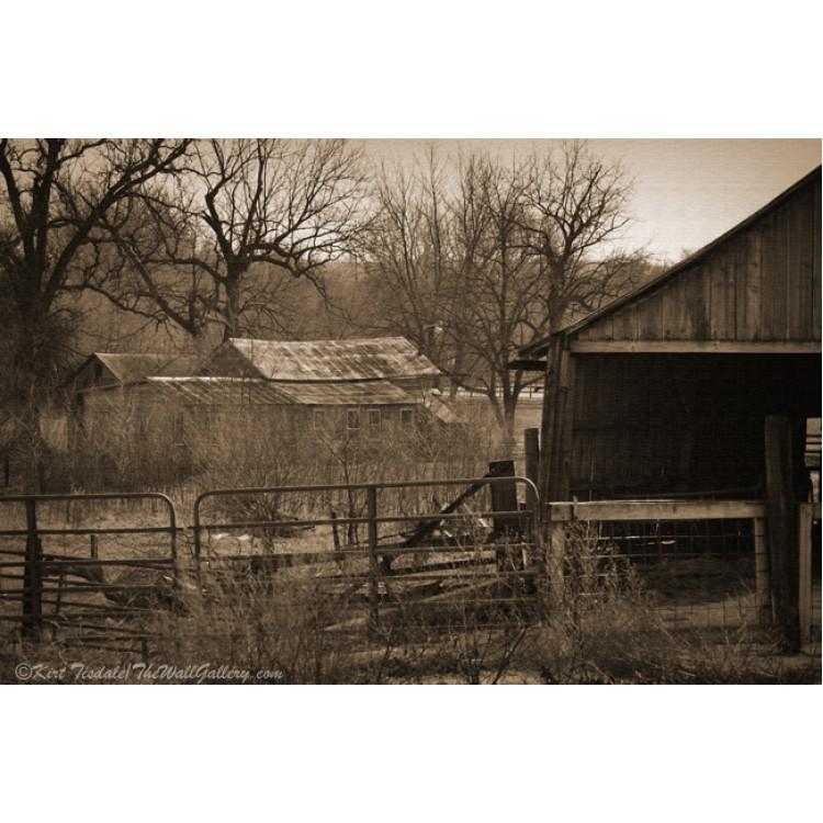 Sepia Tone Oregon Lighthouse