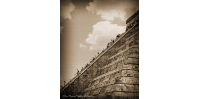 Walking Up The Pyramid