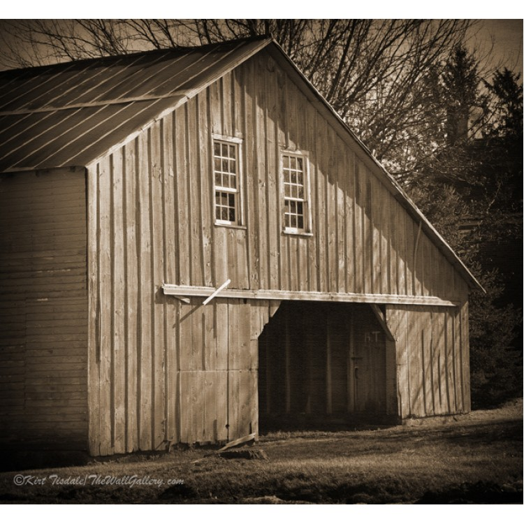 Iowa Hay Barn