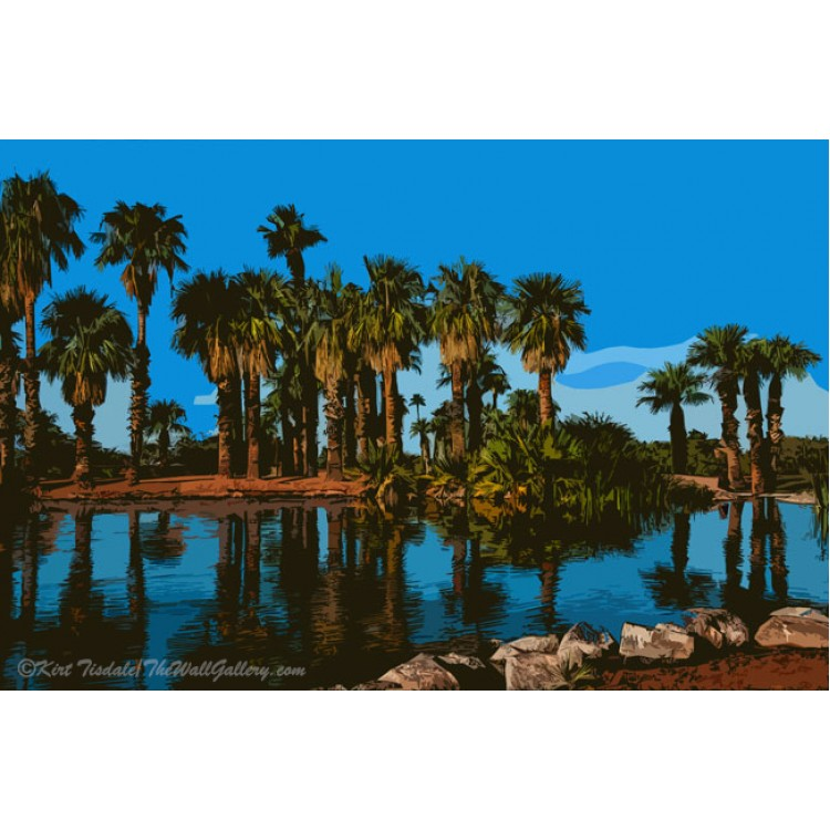 Papago Park Palms