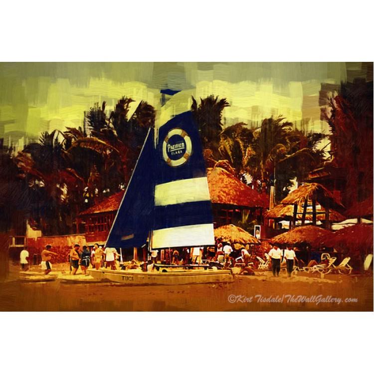 Sailboat At The Resort