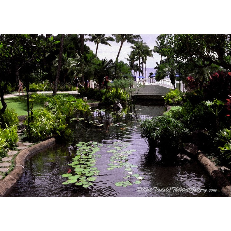 Tropical Resort Pond